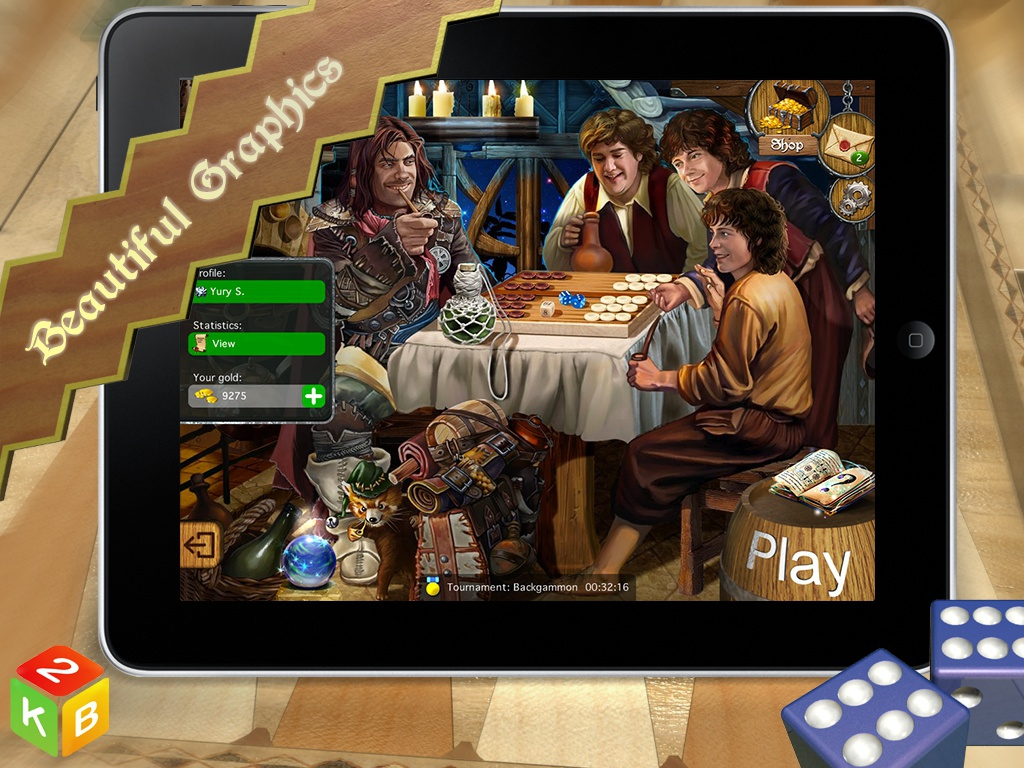 Backgammon Masters screenshot 2